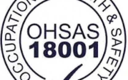 MANAJEMEN KESELAMATAN KERJA OHSAS 18001 (Occupational Health And Safety Management System)