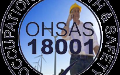 INTERNAL AUDIT OHSAS 18001